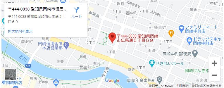 伊藤秀人会計事務所の地図画像