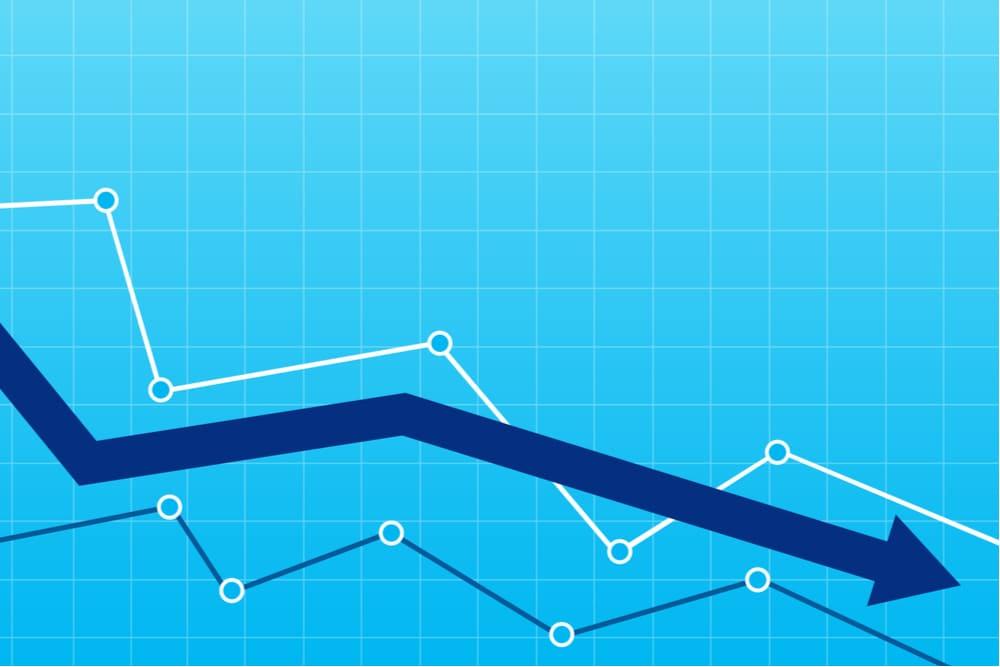 遅延や回収不能が起こって売掛金回転率が低下している場合